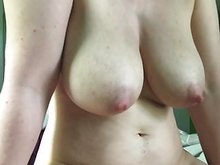 Big boobs cameltoe slide cumshot