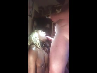Throat fucked like a pussy
