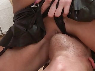 Young guy Thomas comes from femdom and pegging from hot babe