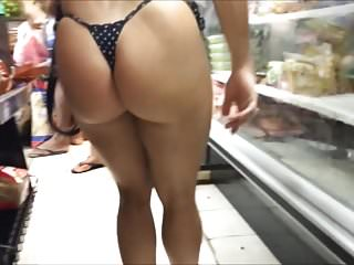 Spy and Voyeur Bikini Sexy Hot Ass and Pussy