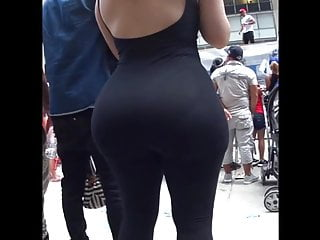 Phat Ass in Black Spandex