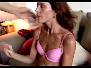 Disgusting sex with very skinny mature pussy