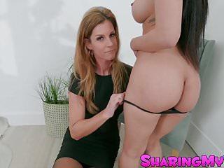 Bossy bitch India Summer makes Jade Kush share her boyfriend