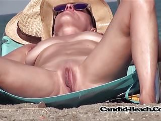 Spread Pussy Open Legs Nudist Milfs Voyeur Beach Spy