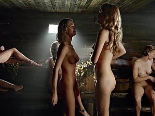 JamesBlow - Group Ladies Nudity Sauna