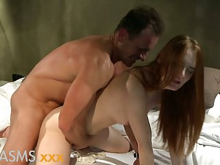 ORGASMS Hot redhead sensual penthouse fuck
