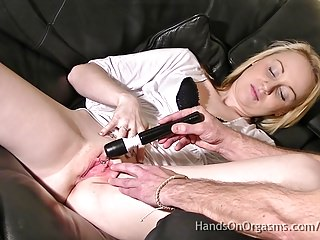 Made to Orgasm -The Cameraman Stimulates Their Clits