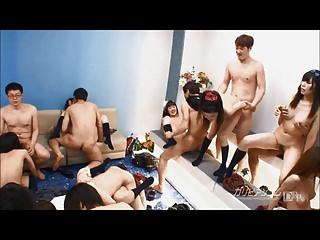 School Time Orgy
