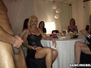 Sexy girls enjoy dick party