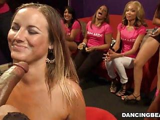Petite Bride Sucks & Fucks At Her Bachelorette Party