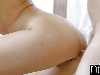 NF Busty Petite Kagney Linn Karter Shower Fucked