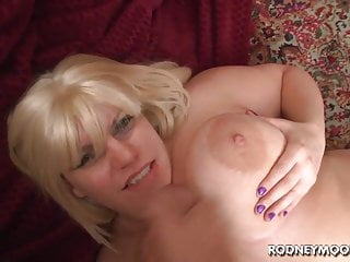 Blonde BBW Tiffany Blake Big Fat Tits POV
