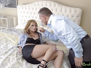 BrattySis - Daughter Wants Punish Fuck From Step Dad