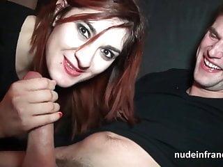 Amateur french redhead slut hard banged and facialized