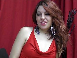 PUTA LOCURA Skanky Redhead Amateur Latina pounded doggystyle