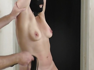 My tits whipped hard for my Masters pleasure