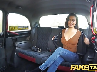 Fake Taxi Squirting screaming hot pussy taxi orgasms