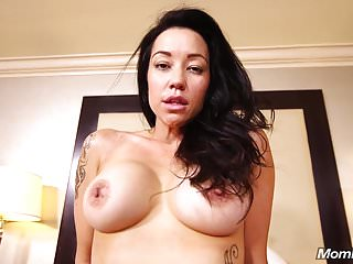 Sexy Big eyed MILF quivers with orgasms
