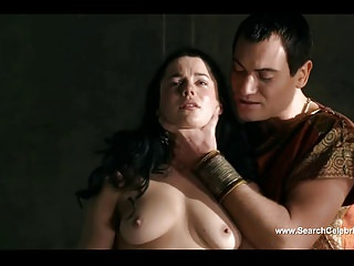 Jessica Grace Smith and Lesley-Ann Brandt nude - Spartacus