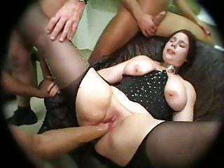 WIFE HELGA GANGBANG ANAL DEEP THROATS CRY FISTING ORGASMS