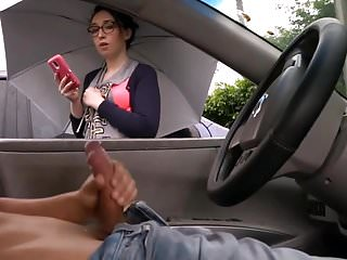 dude talking to random girl during masturbation