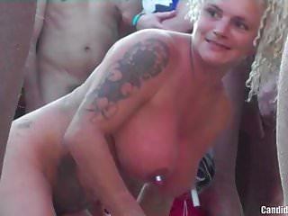 Horny Milfs Fucked By Strangers At Nudist Beach Voyeur HD