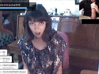 CHATROULETTE- Russian Girls Big Cock Reactions 3