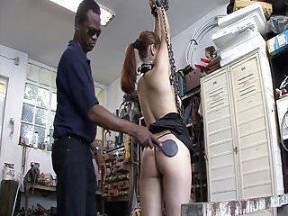 Devot sluts gets punishment in the garage