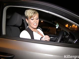 Cock mad Milf nighttime dogging