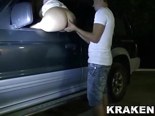 Dogging with a mature naughty woman in a exclusive video