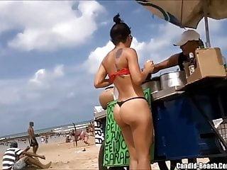 Beach Bikini Girls Sexy Ass Voyeur HD Video