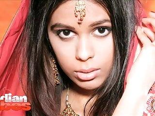 Indian Babe Priya In Bridal Dress Stripping Naked