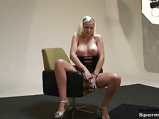 Spermastudio  P1+2 Kinky Blonde Gets Multiple Facials