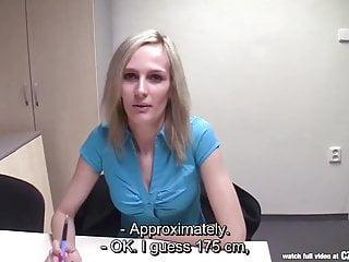 CZasting - Skinny Czech blonde at casting
