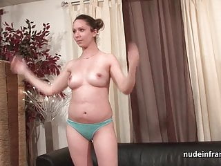 Chubby brunette ass hammered and facial for her amat casting