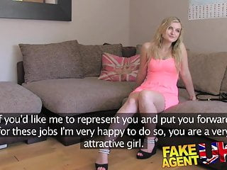 FakeAgentUK Canadian hottie seeks UK porn work through sex