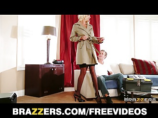 Brazzers - Puma Swede cheats on her man for anal
