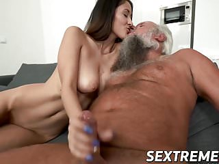 Darcia Lee craves for Albert's still working old boner