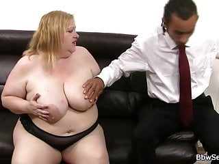 Black husband cheats on wife with BBW