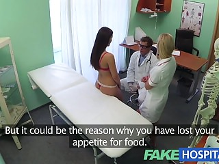 FakeHospital Doctors cock and nurses tongue cure frustrated