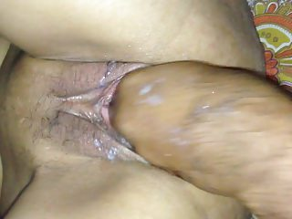 fisting and gaping of Indian Wife