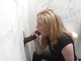Brittany Sucks A BBC At The Gloryhole