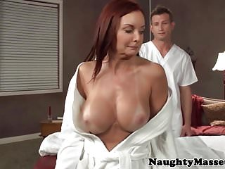 Bigbooty massage MILF oiled and doggystyled