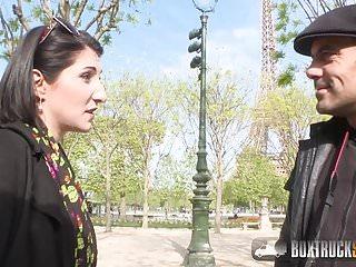 Hot Mylene Johnson has Hardcore Public Sex in Paris