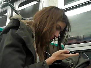 Ragazza in Metro ( Stocking )