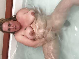 lekker in de whirlpool