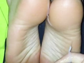 wife more cum on feet