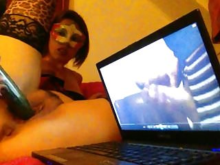 38yr Old Dutch Xhamster Milf : Tribute to me with Cucumber