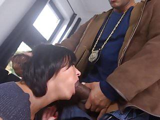 BBC roughly anal fucking white girl