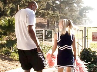 Petite Teen Cheerleader Alyssa Branch Fucks BBC